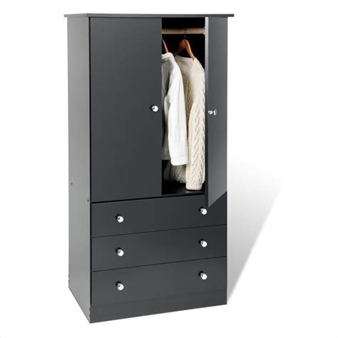 Black Tv Armoire by Prepac Black Juvenile Tv Wardrobe Armoire Ebay
