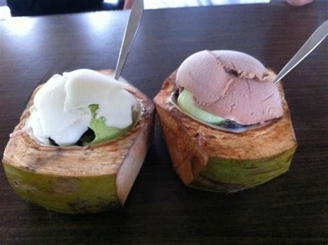 cara membuat ice cream homemade eskrim dgn batok kelapa picture of ice cream angi