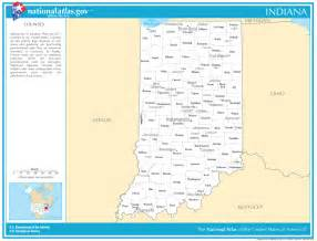 state map with cities and counties indiana state maps interactive indiana state road maps