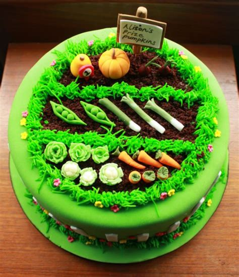 vegetable garden cake 25 best ideas about allotment cake on