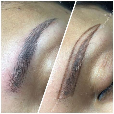 eyebrow tattoo kuala lumpur elegant 3d brow embroidery hair stroke brow vs flat brow