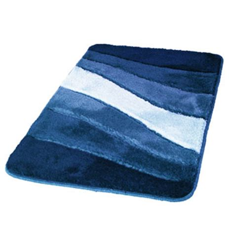 Ocean Modern Ocean Themed Non Slip Bathroom Rug With Blue Bathroom Rugs