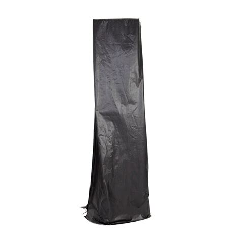 patio heater cover shop sense 88 in black patio heater cover at lowes