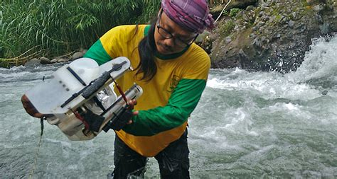 Jasa Drone indymo deploys water drones to inspect water quality