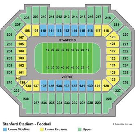 stanford stadium seating vipseats stanford stadium tickets