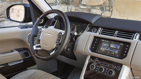 land rover range rover 2016 interior 2016 range rover hse td6 diesel interior hd wallpaper 144