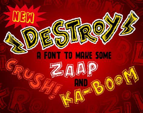 Dafont Destroy X | destroy font dafont com