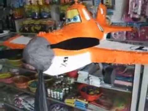 como hacer piata de helicoptero dusty aviones youtube