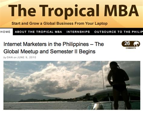 Dan Tropical Mba by Business Lifestyle Top 12 Lifestyle Design Blogs