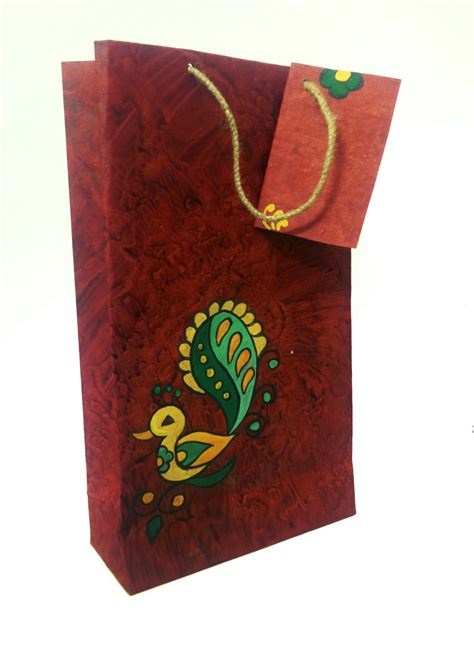 Handmade Design On Paper - cottontus buy hanmade paperbags gift bags designer