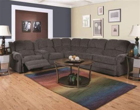 Reclining Sectional Sleeper Sofa Rent Furniture Quot Novak Black Pearl Quot Sleeper Sectional Sofa And Reclining Loveseat