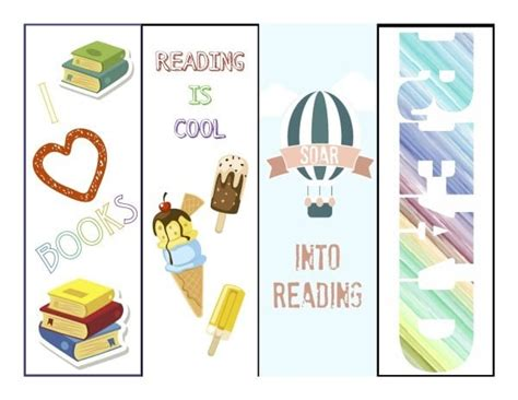 printable summer bookmarks summer reading bookmarks cranial hiccups