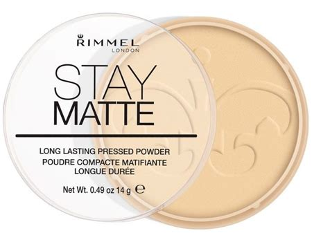 Rimmel Stay Matte Shade Transparan rimmel stay matte pressed powder shade 001