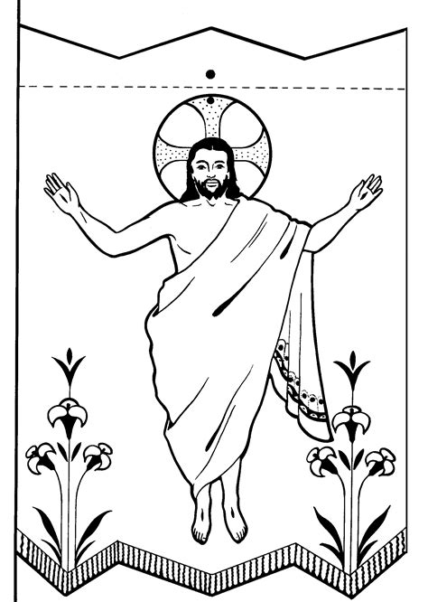 resurrection coloring pages children s fellowship easter coloring pages the