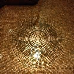 Bathroom Shower Ideas On A Budget How To Tile A Floor With Pennies 171 Patio Supply