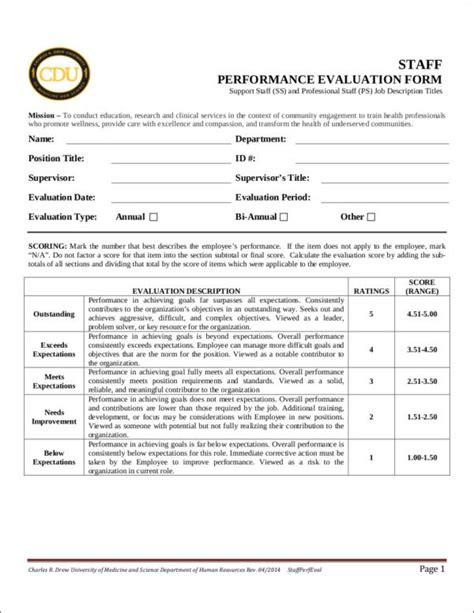 purpose employee evaluation the purpose of employee evaluation sle templates