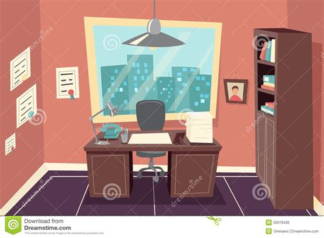 stylish office stylish business working office room background stock