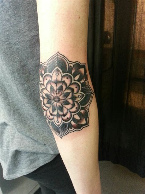 mandala flower tattoo cool mandala flower