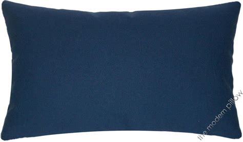 Navy Blue Throw Pillows Navy Blue Solid Decorative Throw Pillow Cover Cushion