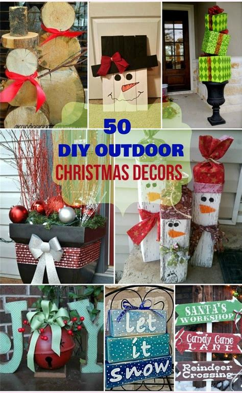 cheap and easy outdoor christmas decorations how to make decorations for outside www indiepedia org