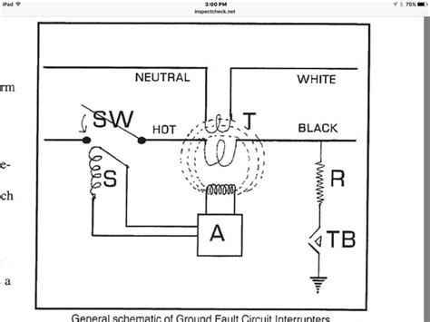 general electric gfci wiring diagram wiring diagram with