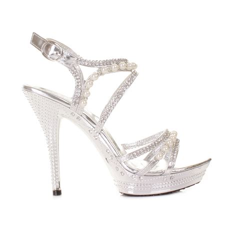 high heels silver shoes cheap silver high heels fs heel