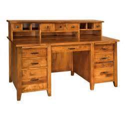 Country Desk by Amish Desks Amish Furniture Shipshewana Furniture Co