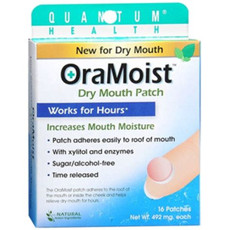 oramoist time released dry mouth discs, dry mouth discs