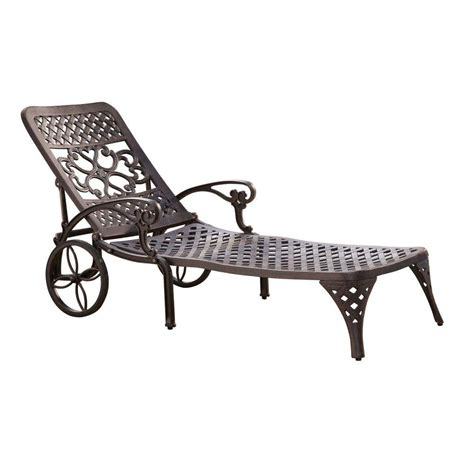 patio chaise lounge martha stewart living solana bay patio chaise lounge as