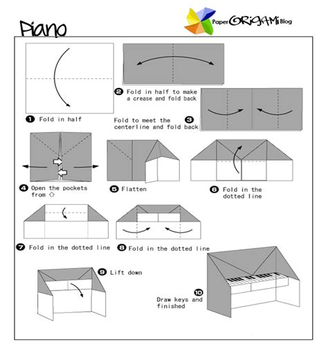 how to make origami piano piano origami paper origami guide