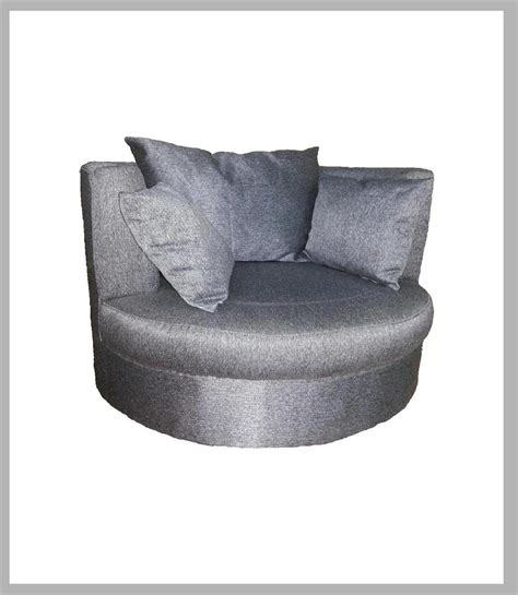 Upholstered Lounge Furniture Sofa Snuggle Daybed Chair Swivel Snuggle Chair
