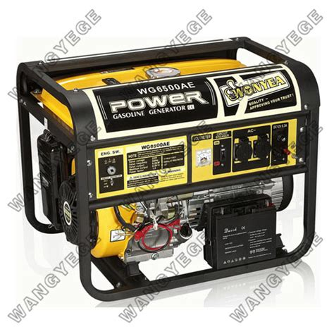 hide sections generator gasoline generator with 5 0kw rated output standard
