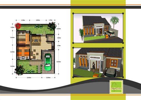 denah desain interior rumah minimalis pilihan denah rumah 2 kamar dengan desain terbaik fimell