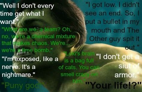 Hulk Quotes | Bruce Banner Quotes Incredible Hulk