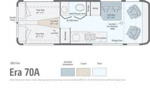 type b motorhome floor plans used sprinter rv 2013 era 70a 24 1 quot sprinter class b by