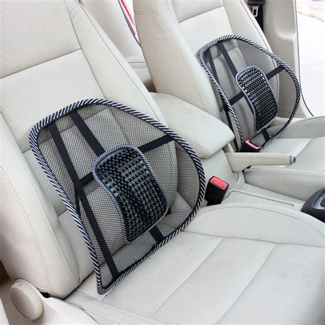 seat for car for back support 1pcs black mesh lumbar back brace support office home car