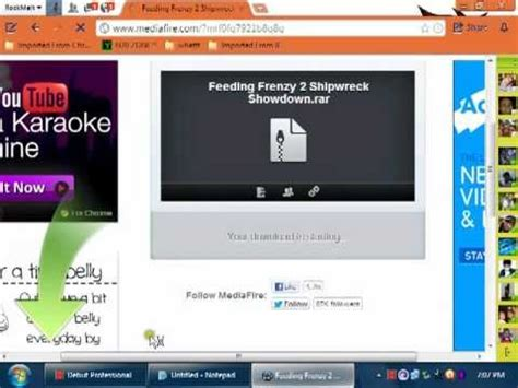 feeding frenzy free download in mediafire youtube