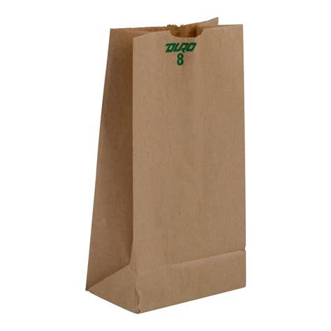 Lunch Bag Lb 8 lb brown paper bag 500 bundle
