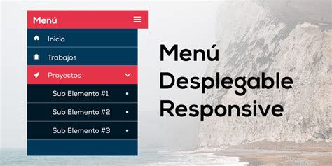 imagenes de un web designer como hacer un men 250 desplegable y adaptable a dispositivos