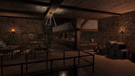 English Tudor Houses entering a medieval tavern youtube