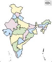 India Outline Map Coloured by India Free Map Free Blank Map Free Outline Map Free Base Map Outline States White