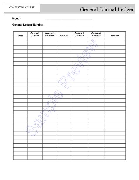 printable journal ledger sheets blank self employment ledger sheets google search