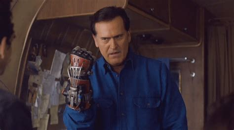 Middle Finger Meme Gif - ash vs evil dead middle finger gif find share on giphy