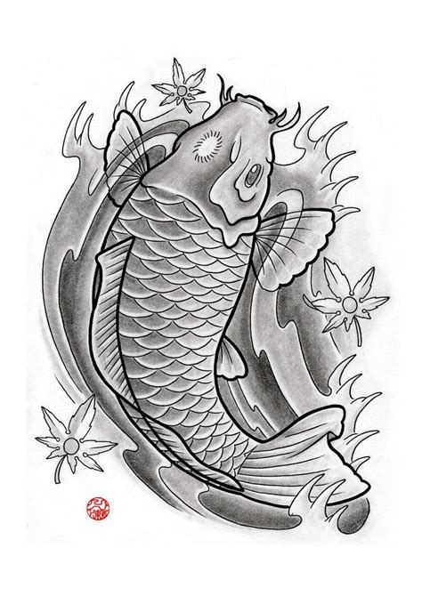 japanese koi tattoo designs free traditional japanese koi fish designs japanese
