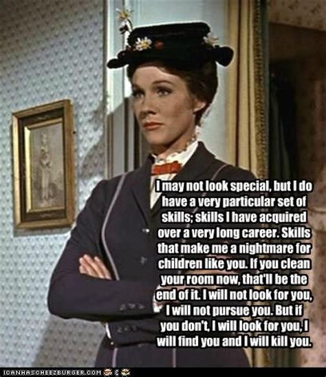 Mary Poppins Meme - mary poppins nanny assassin tickle the funnybone