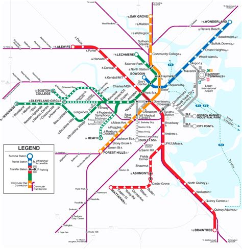 chicago metro map chicago subway map