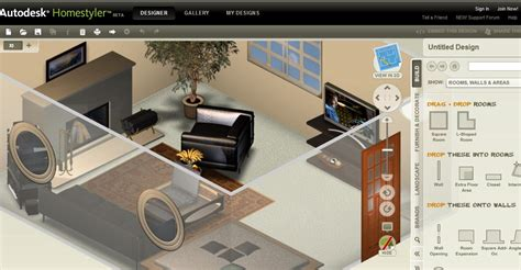 home design online autodesk autodesk homestyler easy to use free 2d and 3d online home