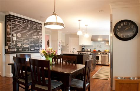 Kitchen And Dining Room Next To Each Other Gorgeous Pot Filler Faucet In Contemporary Philadelphia