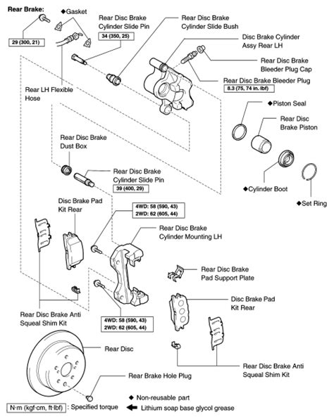 repair guides rear disc brakes brake disc rotor autozonecom