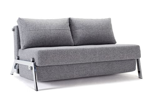 Cubed Sofa Bed Innovation Cubed 140 Chrome Sofa Bed Sitandsleep